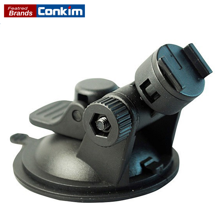 Conkim Car DVR / GPS holder for Sport DV Camera mount DVR holders Driving recorder suction cup Black Stands Holder car suction cup for dash cam holder with 6 types adapter 360 degree angle car mount for driving dvr camera camcorder gps acti