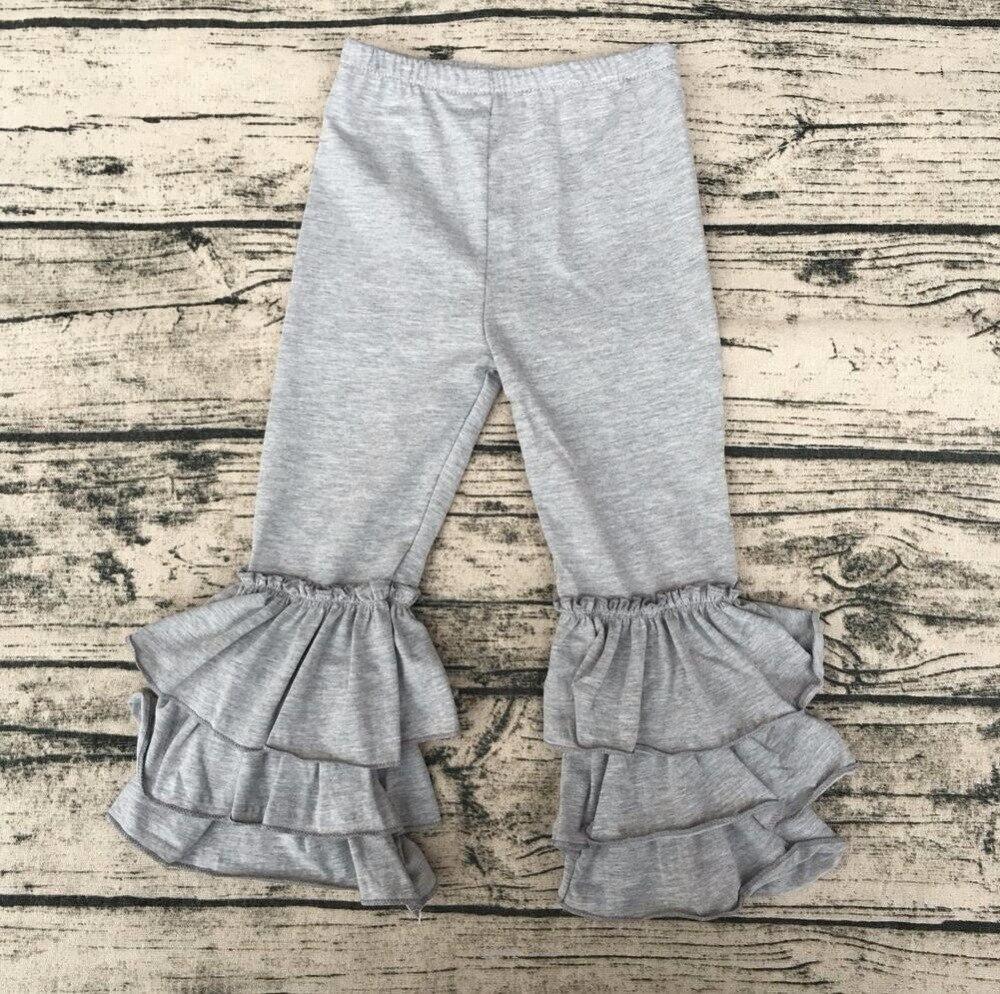 785b5cde63ea3 Abbigliamento invernale ragazze giovani donne di modo nomi con foto all  ingrosso glassa pantaloni adulti tripla grande volant pantaloni in  Abbigliamento ...