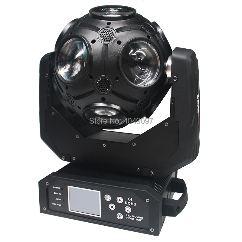 12x20W RGBW 4in1 LED Football Moving Head Light Infinite Rotation Great Show DJ Disco Party Beam Stage Lighting Effect12x20W RGBW 4in1 LED Football Moving Head Light Infinite Rotation Great Show DJ Disco Party Beam Stage Lighting Effect