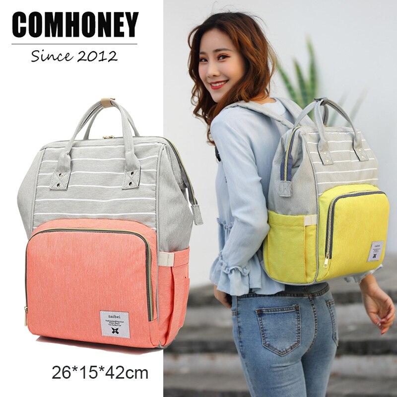 Baby Diaper Bags Backpack for Mom Designer Nursing Handbags Mummy Maternity Nappy Bag