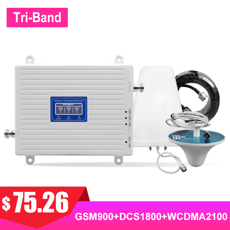 TriBand 2G 3G 4G 900 1800 2100 amplificateur de Signal cellulaire GSM DCS WCDMA LTE FDD UMTS Kit damplificateur de Signal de Communication Internet #TriBand 2G 3G 4G 900 1800 2100 amplificateur de Signal cellulaire GSM DCS WCDMA LTE FDD UMTS Kit damplificateur de Signal de Communication Internet #