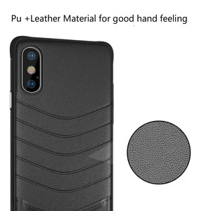 Image 4 - Luxury Phone case for iphone 6 7 8 6s 7s Plus xr xsmax pc leather phone back cover anti scratch dirt reistant business bag coque