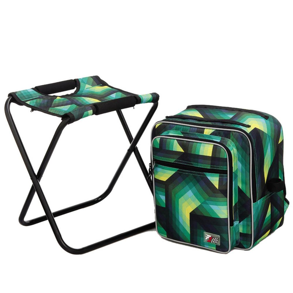 Upgrade Large Size Portable Backpack Cooler Fishing Backpack Chair Stool Convenient Outdoor Hunting Climbing Equipment 4