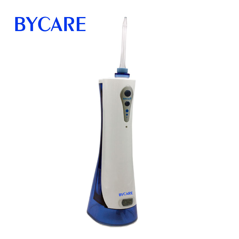 BYCARE water irrigation teeth water jet dental floss mouth cleaner rechargeable oral irrigator electric oral teeth dental water flosser floss irrigator jet cleaning mouth cavity oral irrigador accessories water jet