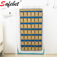 42 Grid Oxford Cloth Mobile Phone Hanging Bag Dormitory Classroom Wall Hanging Bag Storage Bag Door