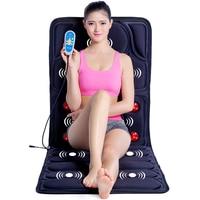 Body Massager Far Infrared Massage Reduce Back Fat Mattress Cushion Vibration Body Head Massager Relax Body 110V 220V