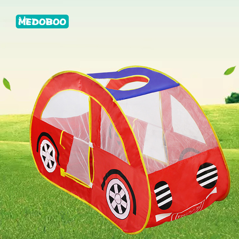 Medoboo Baby Child Play House Game Tent Cartoon Yurt Portable Outdoor Sports Educational Toys Ocean Ball Pool Pit 30