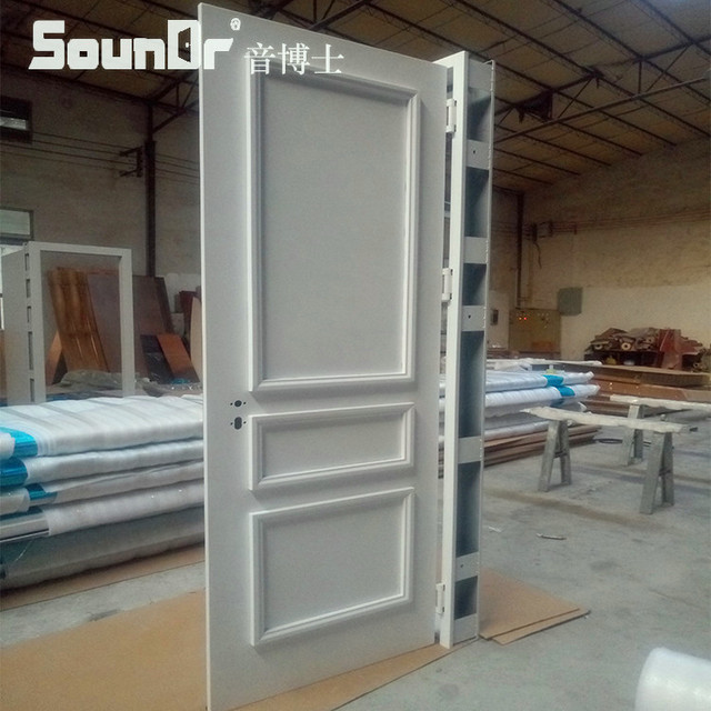 Tansive Construction Double Glazed Soundproof Aluminum Framed Double