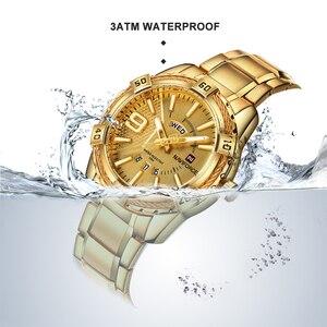 Image 2 - NAVIFORCE Luxury Brand MensกีฬานาฬิกาFull STEEL Quartzนาฬิกาผู้ชายวันที่นาฬิกากันน้ำrelogio masculino