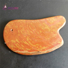 AAA+ Natural bain stone guasha board massage tool facial treatment scraping tool for body health care