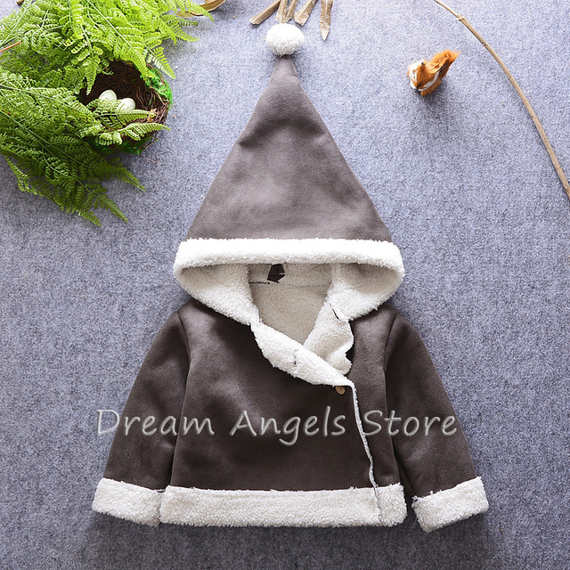 2016 High Quality Baby Boys Winter Jacket Coat Thick Warm Cashmere Kids Hooded Outerwear Casual Boy Down Parka Children Clothing