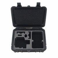 Gopro Accessories Black Medium Plastic Shockproof Protective Storage Carry Case Box Shoulder Bag For Go Pro