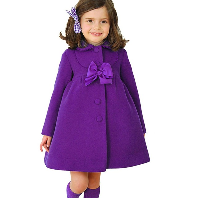 High Quality Children's Clothing Girls Coat Children Spring/Autumn/Winter Fashion Single Breasted Coat Girls Coat 3 Color YY0578