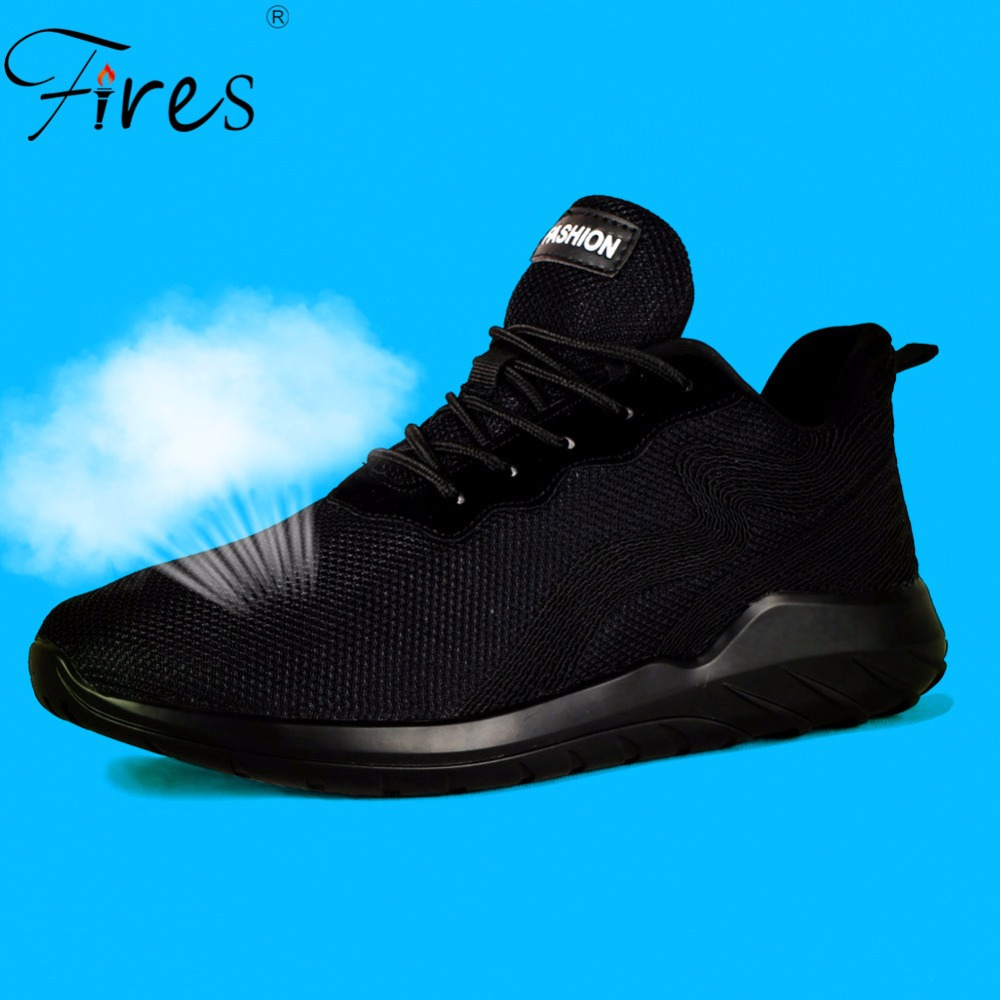 Fires Men's Sneakers Large Size Running Shoes For Men Sports Athletic Shoes Breathable Summer Comfortable Man Walking Shoes Mesh