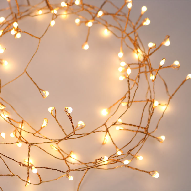 33ft 300LED Cluster String Lights Branch Tree Outdoor Copper Wire Fairy lights for Cafe Bar Wedding party Xmas Home Decoration33ft 300LED Cluster String Lights Branch Tree Outdoor Copper Wire Fairy lights for Cafe Bar Wedding party Xmas Home Decoration