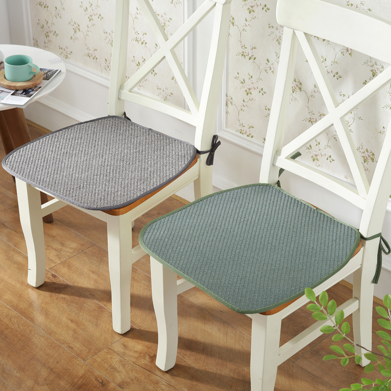 Breathable Autumn Dining Chair Cushion Solid Two Types Seat Cushions Mats For Kitchen Car Office 1pcs Cushion Coussin De Chaise