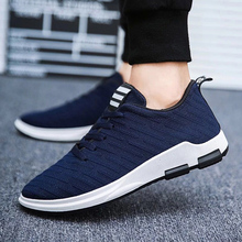 hot deal buy ariari 2019 spring men's casual shoes breathable mesh mens sneakers lace-up men's shoes flat shoes for men