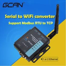 Промышленный беспроводной rj45 gsm/GPRS двойная sim 4g lte модем Последовательный rs232 rs485 к wifi и ethernet