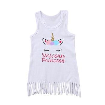 Unicorn Princess Sleeveless Sundress
