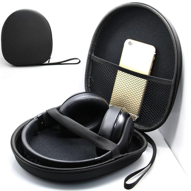 Hard Case Storage Carrying Bag Box for Earphone Headset Headphone Earbuds Memory Card Big Headphone Storage Bag outdoor стоимость