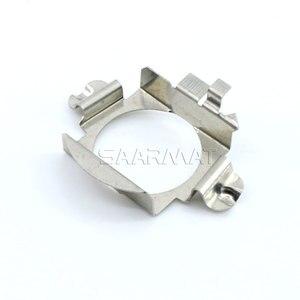 Image 3 - 2x H7 Led Adapter Base Koplamp Lamp Speciale Metalen Clip Retainer Sockets Voor Mercedes C E Ml Clk Gla Gl gls