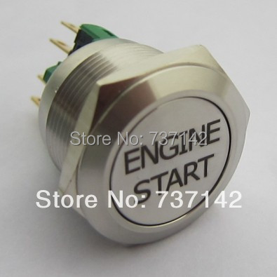 ELEWIND 22mm 1NO1NC Momentary push button With ENGINE START symbol(PM221F-11/S With ENGINE START symbol )