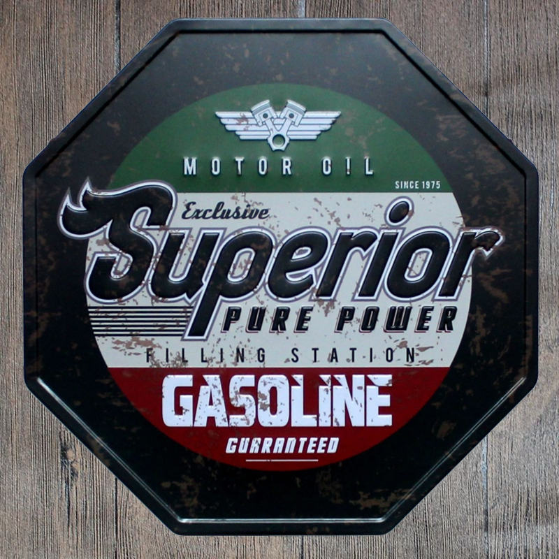 Hohappyme Vintage Garage Signs Plate Metal Home Decor Wall Plaques Bar  Decoration Gas Oil Garage Tool Enthusiast Room 30x30 Cm In Plaques U0026 Signs  From Home ...