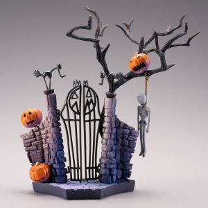 Image 4 - SCI FI Revoltech Series NO.005 The Nightmare Before Christmas Jack Skellington PVC Action Figure Collectible Model Toy