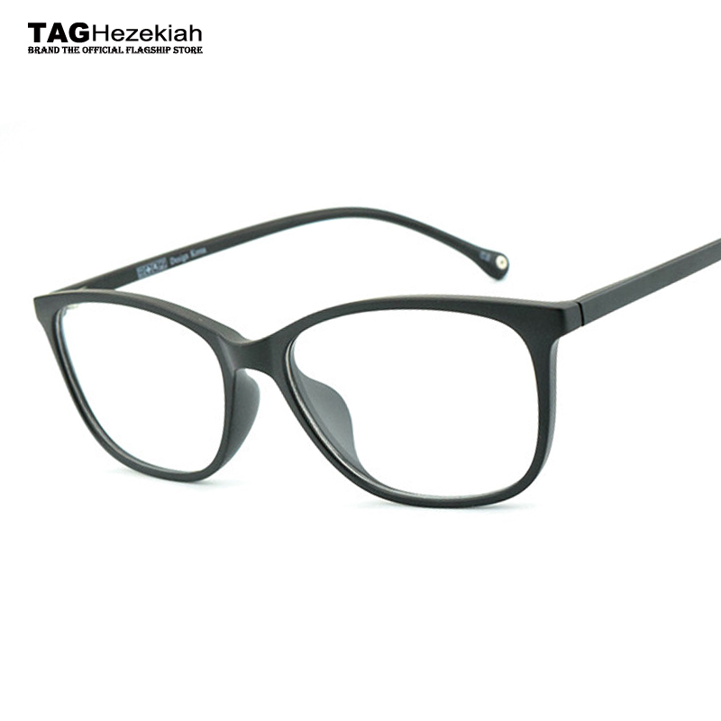 1c60e52b6e 2018 new TR90 glasses frame women computer glasses eyeglasses frames men  Ultralight design frame glasses optical prescription-in Eyewear Frames from  Apparel ...