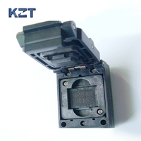 LGA52 PARA DIP48 IC Socket Test Com Placa Queimar no Tamanho do Soquete 14x18mm Flash Programmer Adapter Cleamshell Tomada de programação|socket test|socket m|sockets programmer -