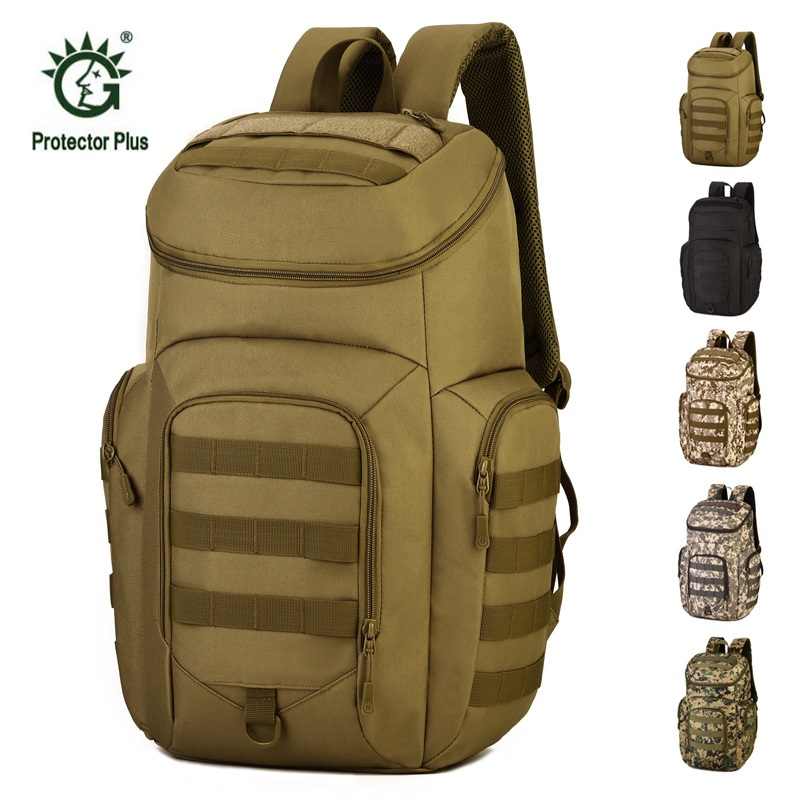 40L Outdoor Sport Military Bag Tactical Backpack Waterproof Camouflage Camping Hiking Bag Trekking Rucksack Travel Outdoor Bag 55l unisex outdoor military army tactical backpack trekking sport travel rucksacks camping hiking trekking camouflage bag