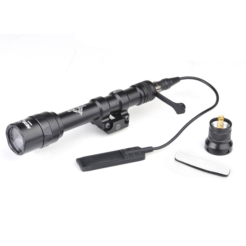 SEIGNEER Night Evolution Weapon Flashlight M600AA Mini Scout Light For Hunting Outside Lights with tactically switching NE04063