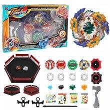 Волчок бейблейд взрыв Arena Beyblades Металл Fusion Fafnir Avec Launcher Бог спиннинг Топ Bey лезвия классические игрушечные лошадки для детей