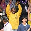 100%cotton Kanye West YEEZY Lakers Kobe Bryant retired letter commemorative long-sleeve COUPLE men  women yellow T-shirt S-3XL