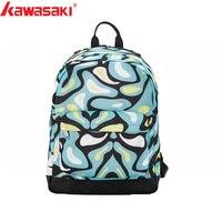 Kawasaki Kids tennis racquet bag backpack Brand tennis backup New Back Pack Children's Tennis Bag for 1 2pc KBB 8206 KBB 8207