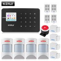 KERUI G18 сигнализации дома Беспроводной GSM охранная сигнализация Системы с детектором движения Сенсор Комплектующие системы охранной сигнали