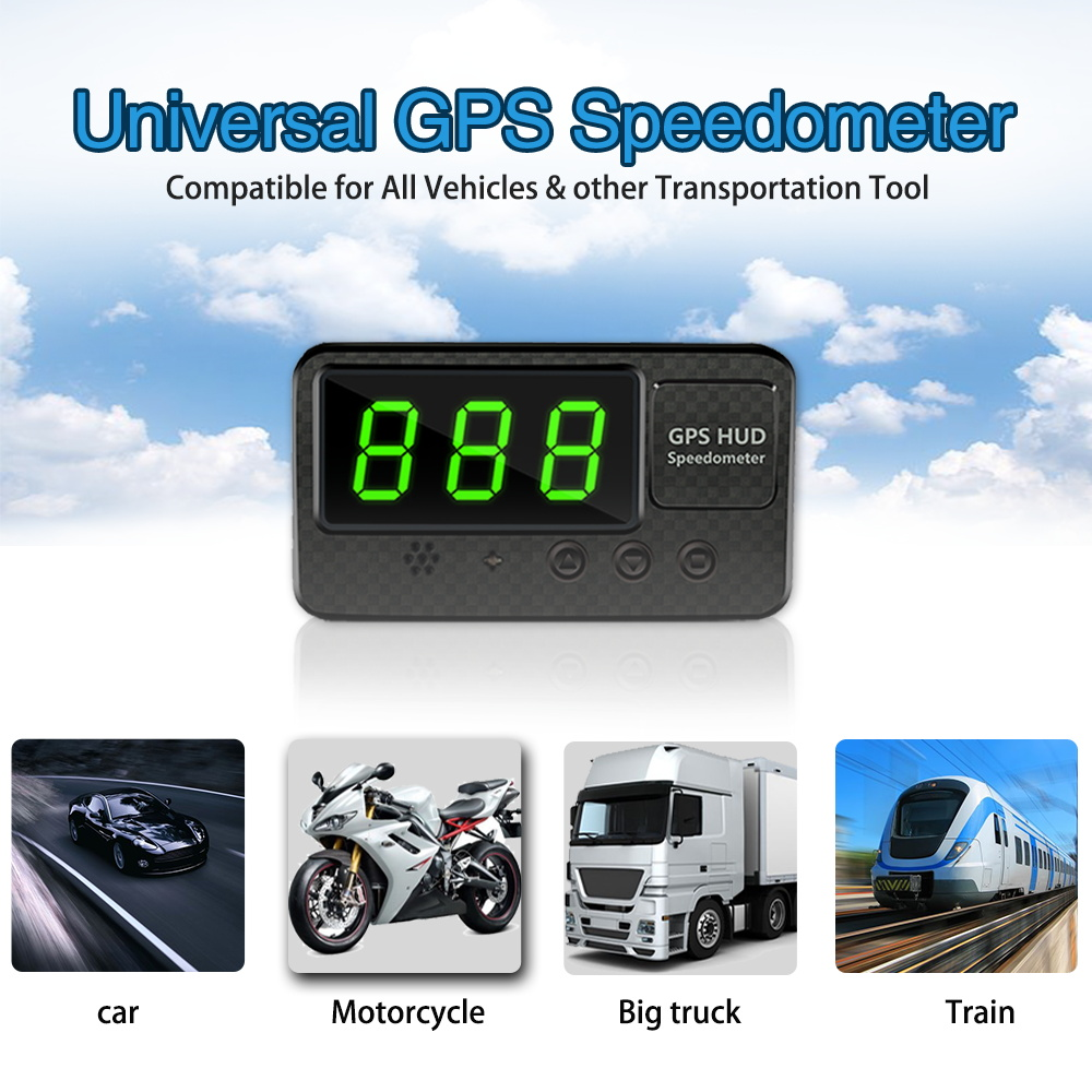Verrassend Goede Koop Aliexpress Goedkoopste Hud Auto GPS Snelheidsmeter DG-74