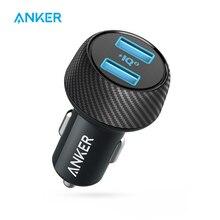 Carregador rápido duplo de anker 30 w usb, compatível com dispositivos de carga rápida, velocidade do powerdrive 2 com poweriq 2.0 para o iphone da galáxia etc