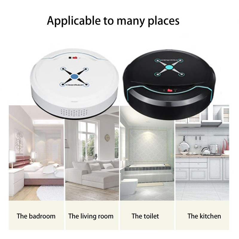 Top Sale Auto Vacuum Cleaner Robot Cleaning Home Automatic Mop Dust Clean  Sweep Machine
