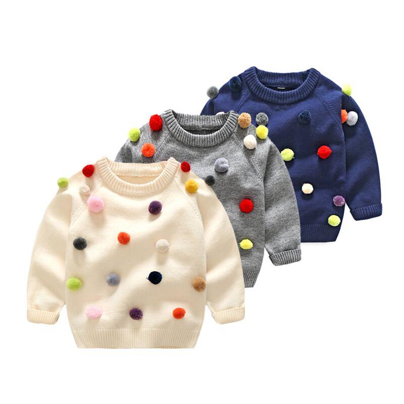 Babykleding Winter.Babykleding Kids Peuter Meisjes Jongens Truien Herfst Winter Mode