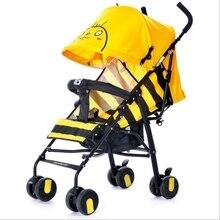 Lightweight Travel Baby Stroller Umbrella Trolley Poussette Kinderwagen Bebek Ar