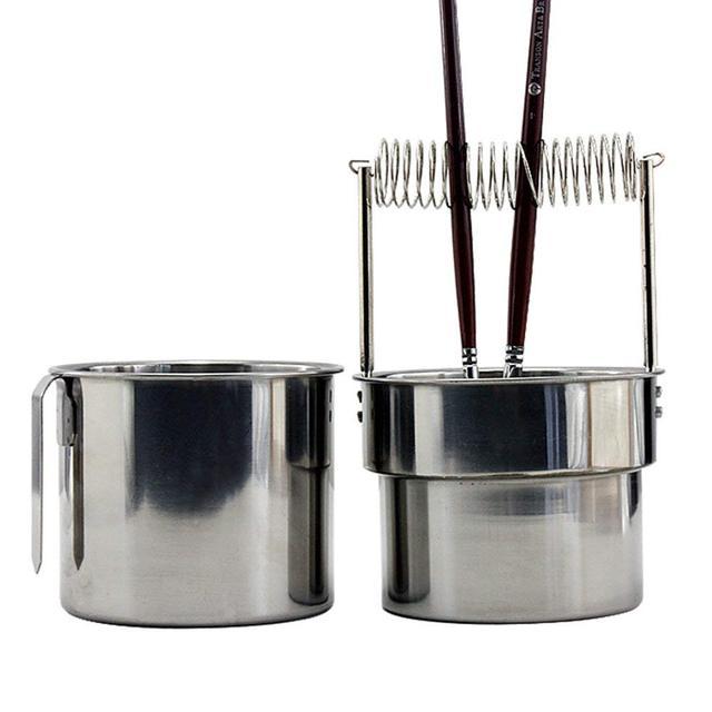 MyLifeUNIT artiste portable brosse rondelle lavage seau Double couche brosse nettoyeur avec réservoir de lavage
