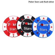 USB stick pen drive Poker Stars pokerstars usb flash drive 4GB 8GB 16GB 32GB 64GB memory stick creative gift pen drive cle usb цена