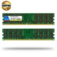 JZL Memoria 4 GB * 2 = 8 GB PC2-6400 DDR2 800 MHz 240-PIN De Bureau PC ordinateur DIMM Mémoire RAM compatible avec 667 533 Mhz Pour AMD CPU