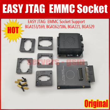 2019 NIEUWE Originele GEMAKKELIJK JTAG PLUS DOOS EMMC Socket (BGA153/169, BGA162/186, BGA221, BGA529)