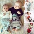 Crianças Da Menina do Menino do bebê Sacos de Dormir Super Macio Mão Crocheted Sereia Cauda Cobertor Cobertor Sofá