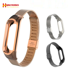 цены на 2018 Metal Belt Smart Watch Band For Xiaomi Mi Band 3 Milanese 304 Stainless Steel Strap Luxury Wrist Strap Metal Wristband  в интернет-магазинах