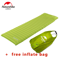 Naturehike Ultralight Outdoor Air Mattress Moistureproof Inflatable Air Mat With TPU Camping Bed Tent Camping Mat