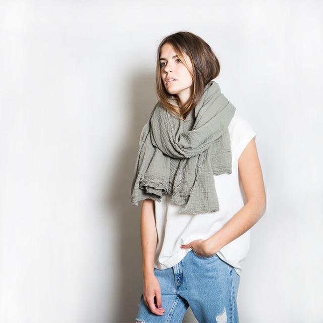 Za Solid Scarf Women black fashion warm women scarves 9 colors in winter scarf wrap shawl Blanket Scarf Luxury Brand