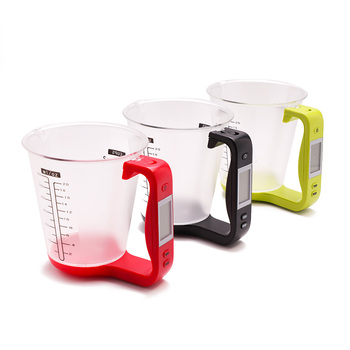Electronic Measuring Cup With LCD Display For Kitchen And Home Use